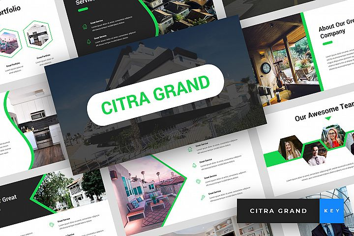 Citra Grand - Real Estate Keynote Template