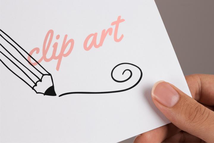 Pencil Outlines Clip Art Transparent PNG Files