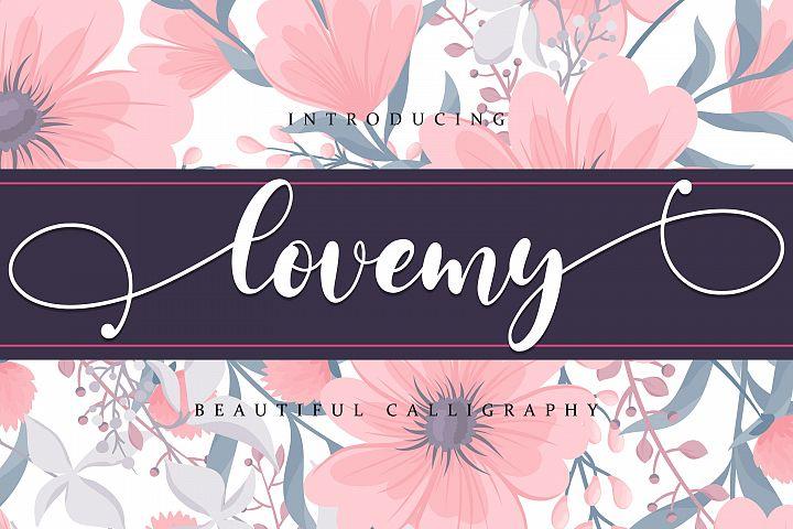 Lovemy - Beautiful script