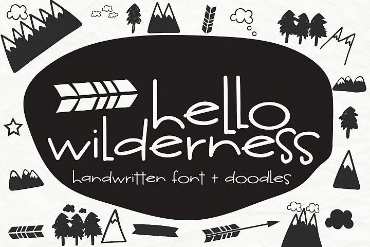 Hello Wilderness Sans
