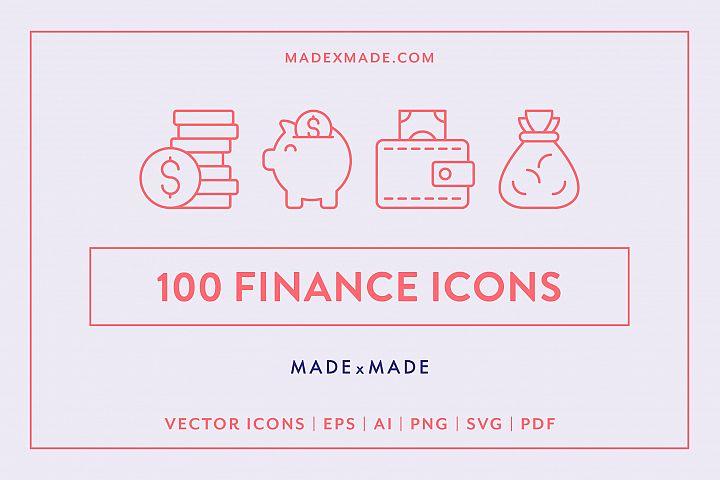 Line Icons - Finance