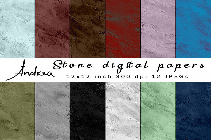 Stone digital papers