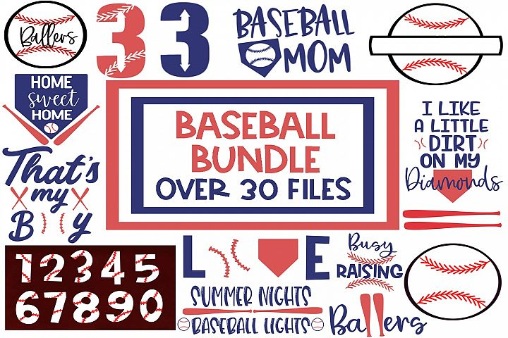 Baseball Bundle SVG