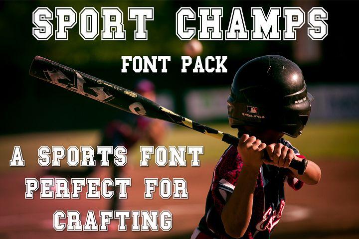 Sport Champs Font