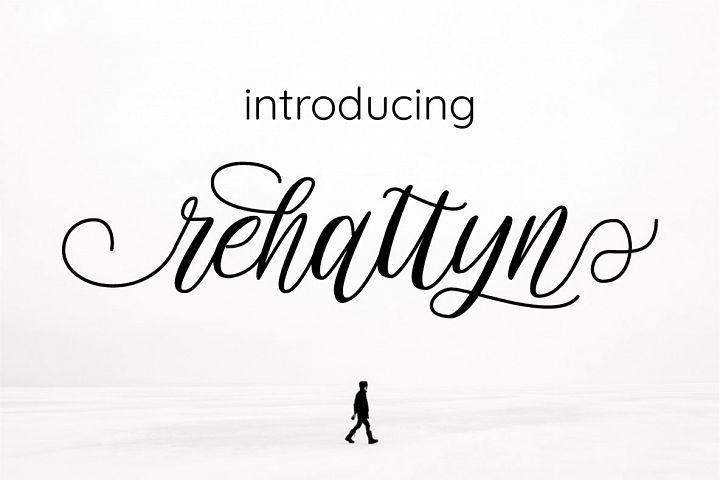 rehattyn | Bouncing Script