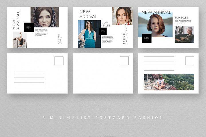 Postcard Creative Fashion