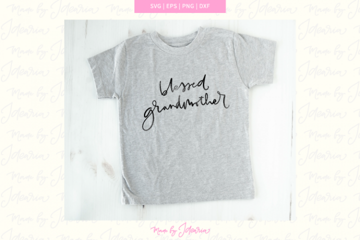 Grandmother svg, blessed grandmother svg, grandma svg, nana