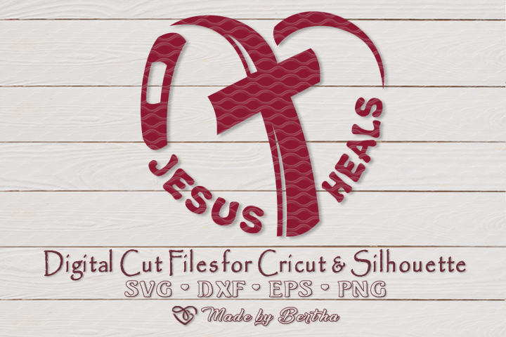Jesus Heals, Heart aches, Band aid svg, Easter, Cross SVG