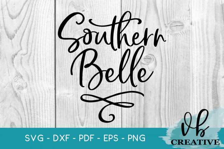 Southern Belle Svg