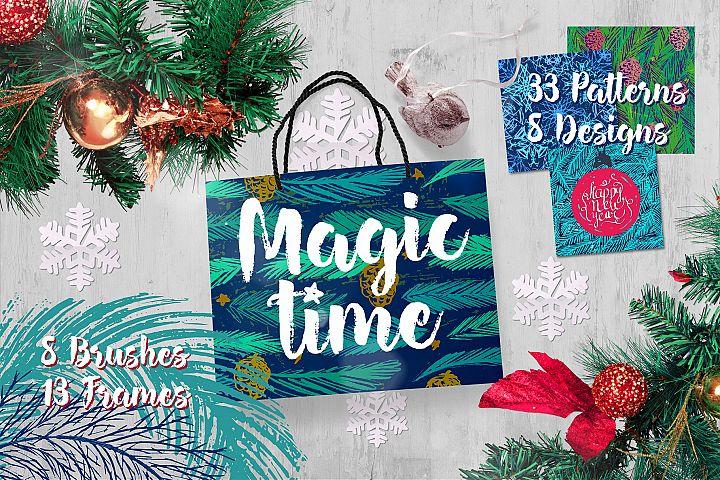 Magic Time Patterns&Frames