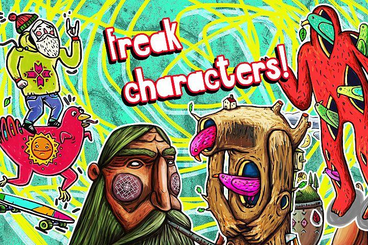 Freak characters
