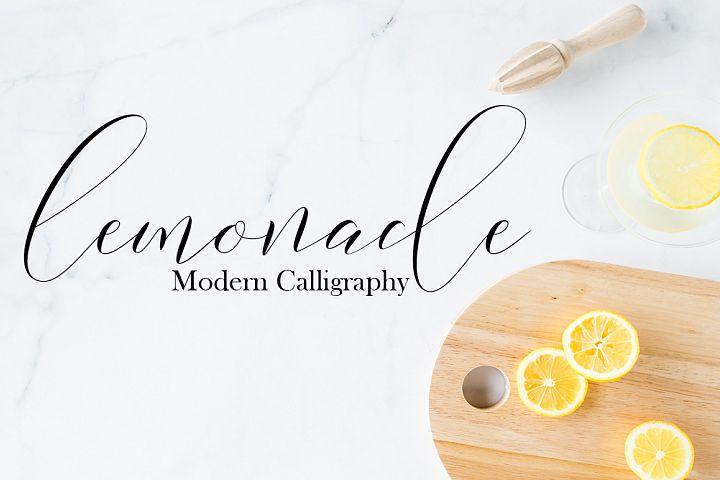 Lemonade Modern Calligraphy