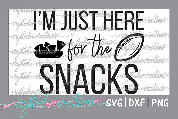Im just here for the snacks