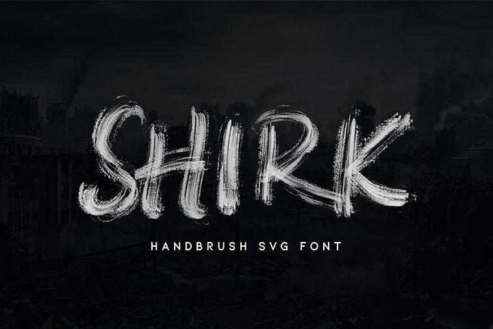 SHIRK - SVG FONT