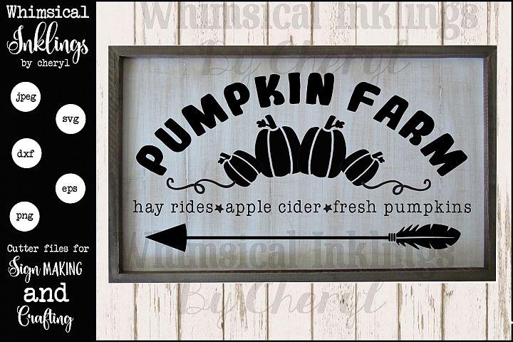 Fresh Pumpkins SVG