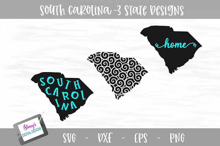 South Carolina Mini Bundle - 3 SC State Designs