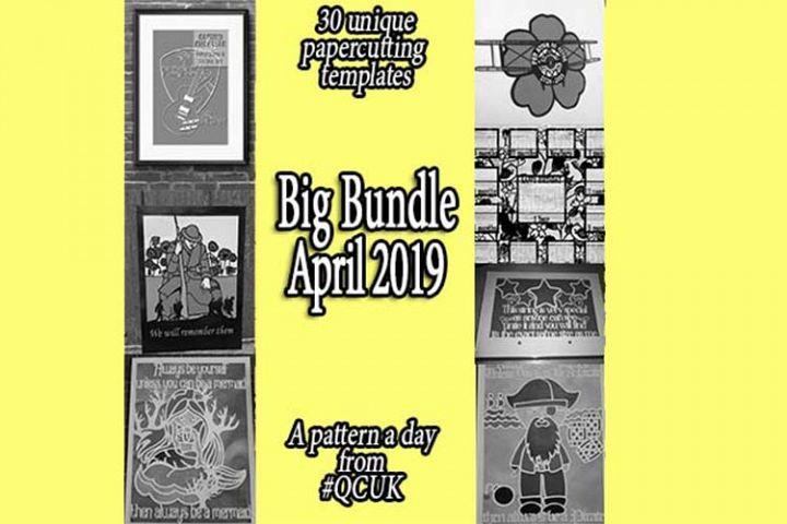 BigBundle APR19 - 30 x Papercutting Templates | JPGs ONLY