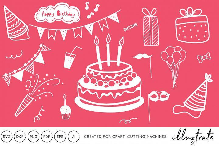 Birthday Graphics SVG Cut File