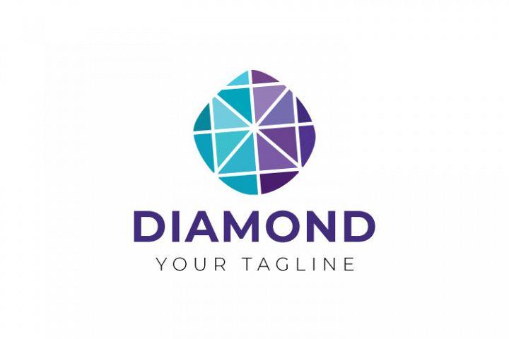 Diamond Shape Logo Design
