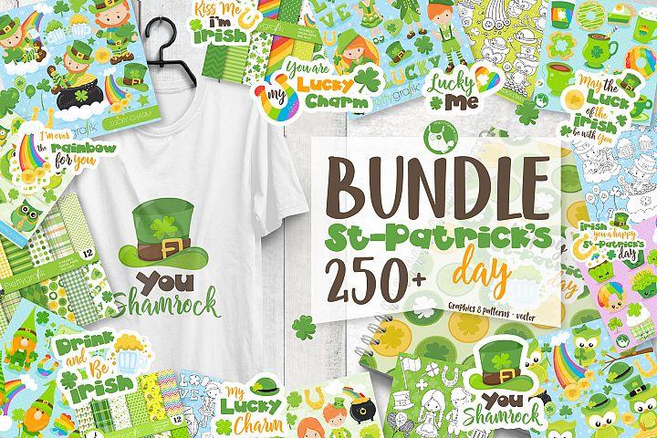 St-Patricks Day MEGA BUNDLE - 80%OFF