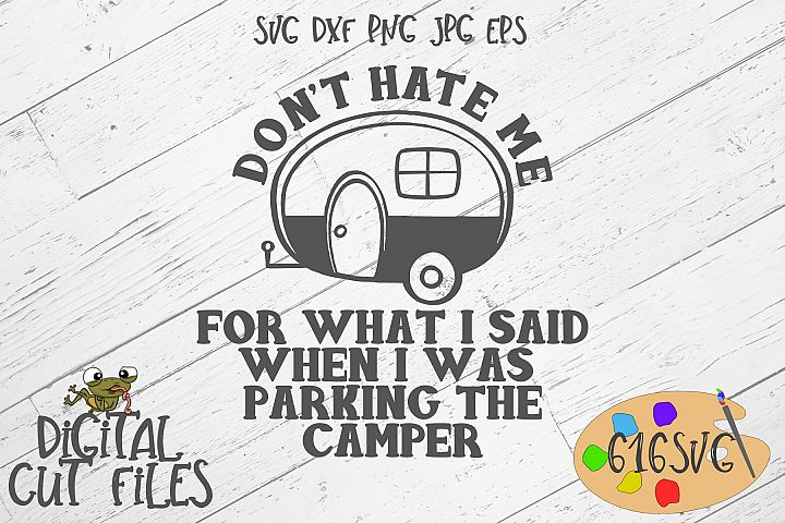 Dont Hate Me For What I Said... SVG