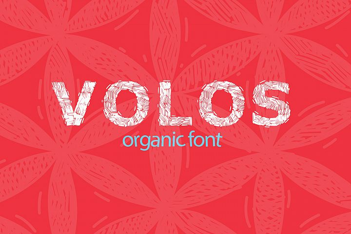 Organic Poster Font