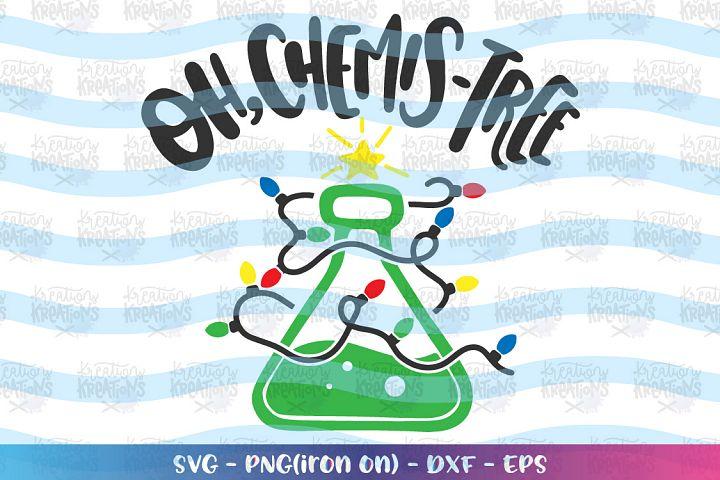 Christmas svg Oh Chemis-Tree svg