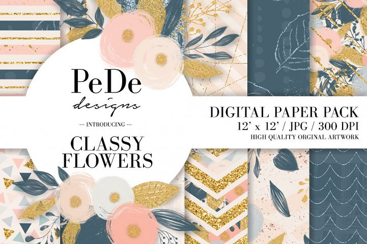 Classy Floral Backgrounds