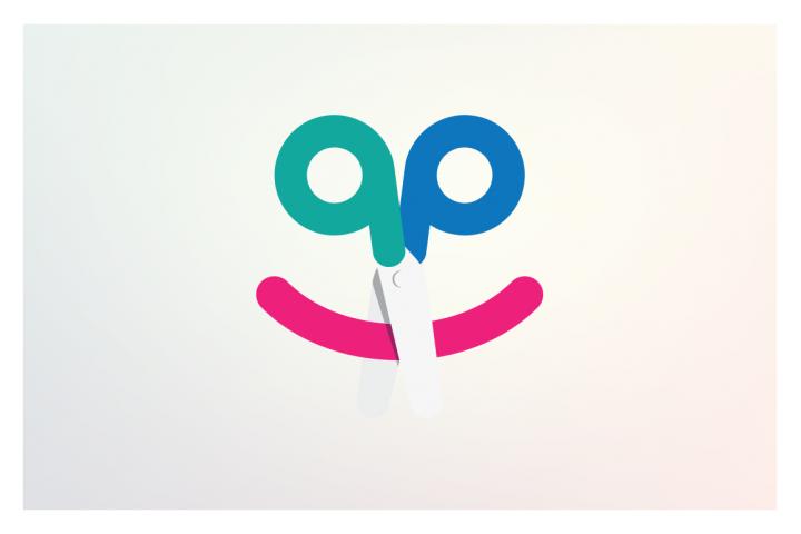 Happycut Kids Hair Salon Logo