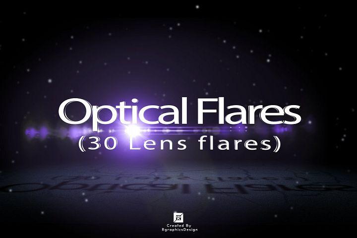 Optical Flares (30 Lens flares)