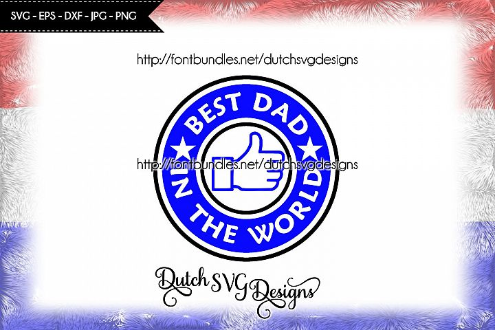 Cutting file Best Dad in the World