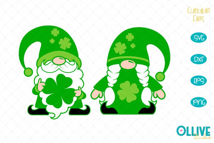 Gnomes Couple St. Patricks Day SVG