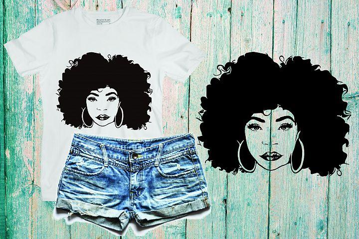 Black woman svg Natural Hair Svg Afro svg,black woman 182SV