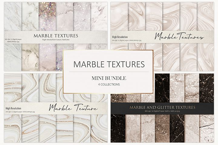 Marble Digital Paper BUNDLE