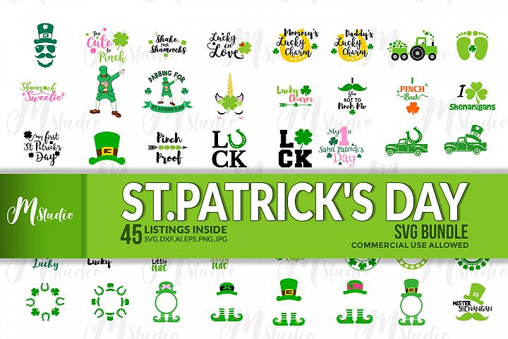St. Patricks Day SVG Bundle