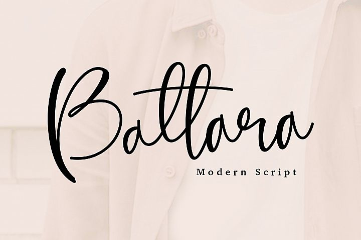 Battara script font