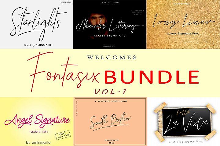 FONTASIX BUNDLE // VOL.1