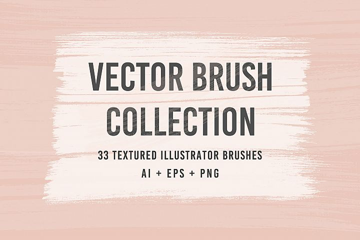 33 Vector Brushes Collection