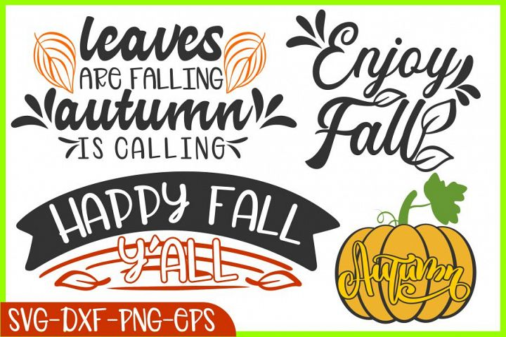 fall svg pumpkin svg autumn happy fall is coming leaves svg