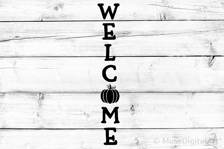 Welcome Porch Sign Svg, Harvest Svg, Hello Fall Svg, Pumpkin