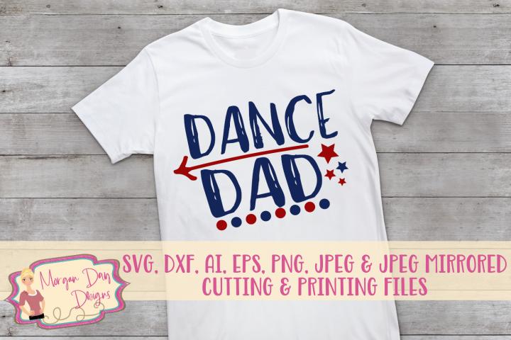 Dance Dad SVG, DXF, AI, EPS, PNG, JPEG