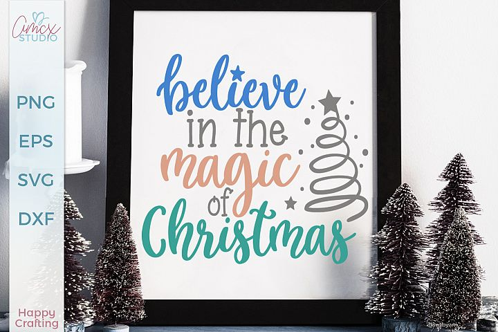 Believe in the Magic - Christmas Craft File