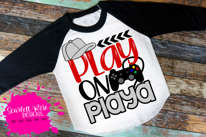 Play on Playa SVG - Video Game SVG