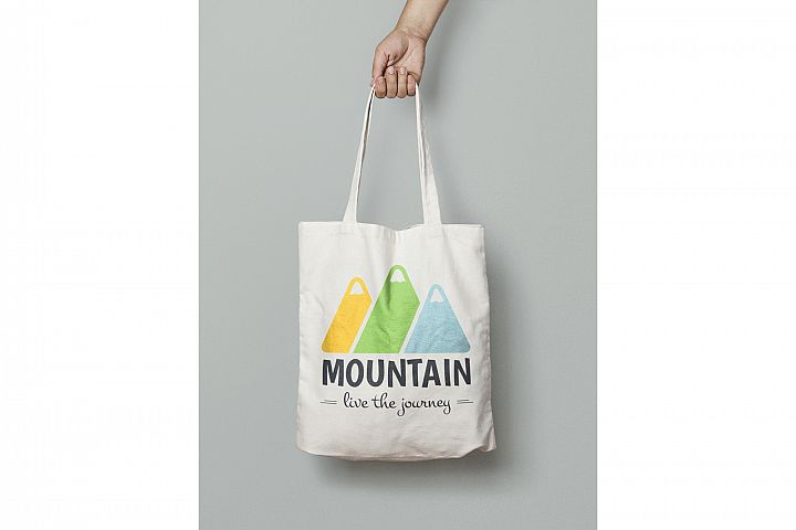 Mountain Logo Template example 6