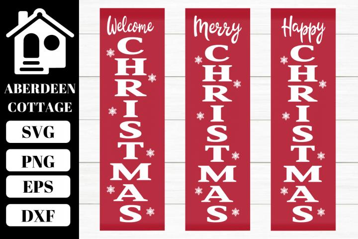 Merry Happy Welcome Christmas Trio Mini Bundle