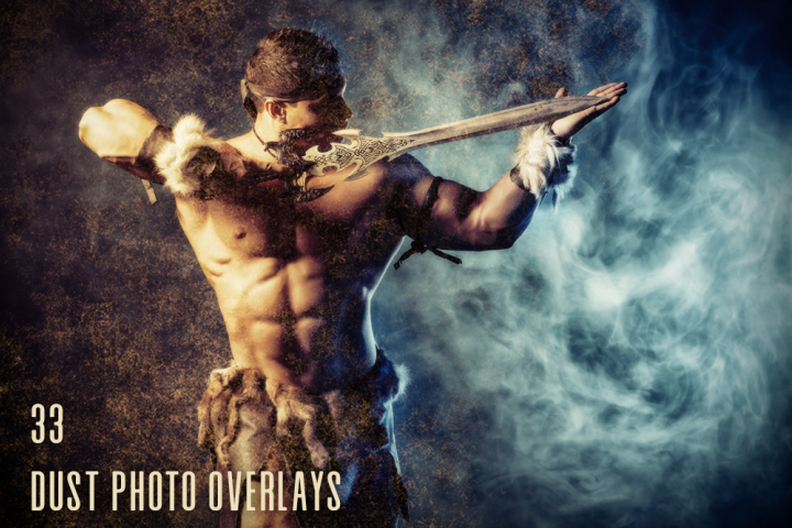 33 Dust Photo Overlays