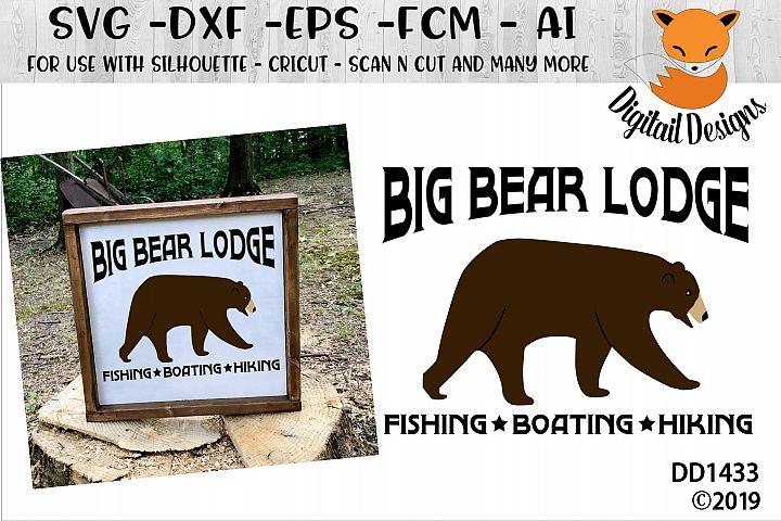 Big Bear Lodge SVG