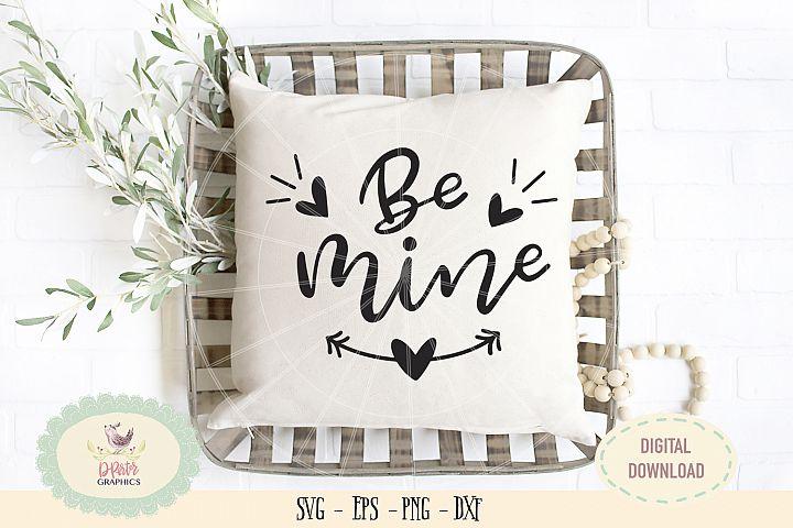 Be mine SVG PNG wedding anniversary valentine