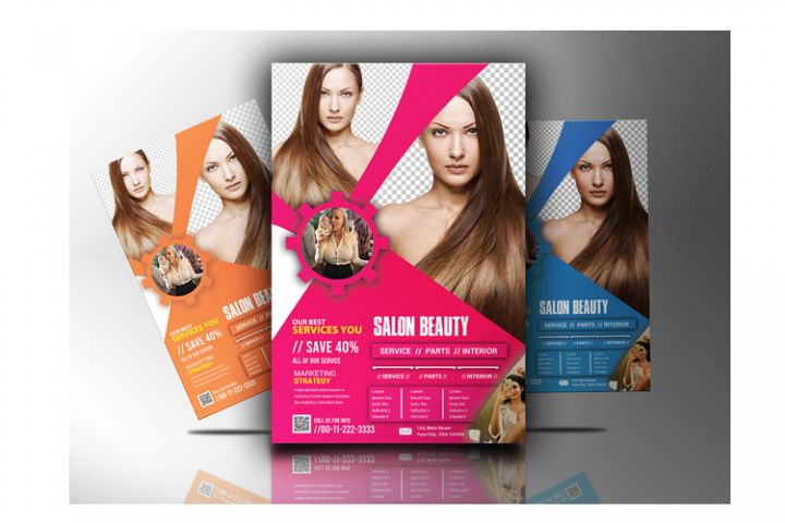 Salon Beauty Flyer