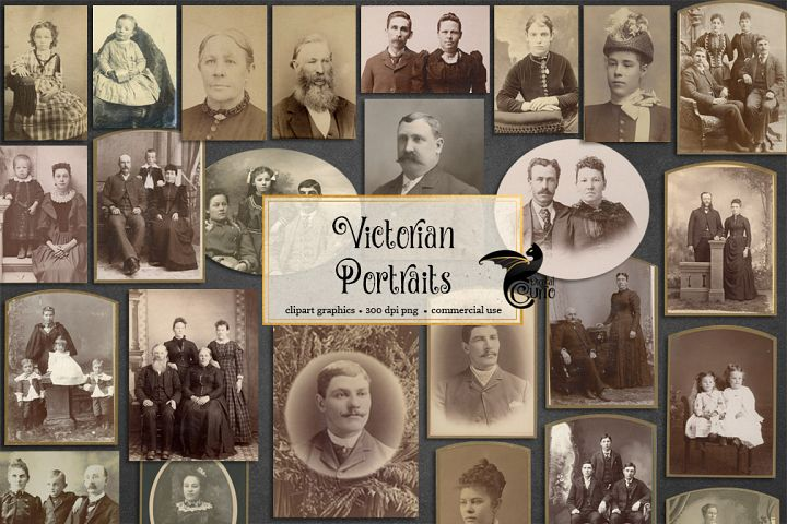 Victorian Portraits example 1
